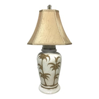 Vintage Robert Abbey Faux Bamboo Lamp