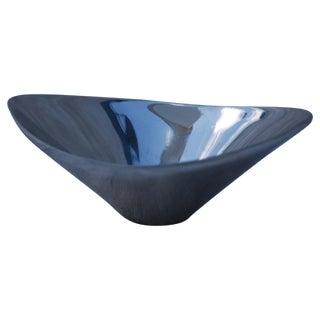Mid Century Modern Chrome Bowl