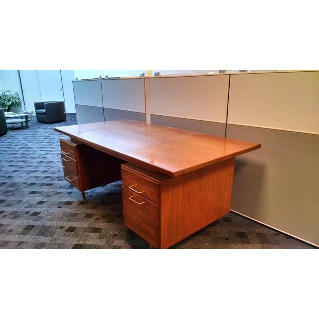 Image of Jens Risom Floating Executive Desk
