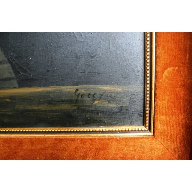 Mid-Century Framed Still Life Oil Painting - Image 3 of 6