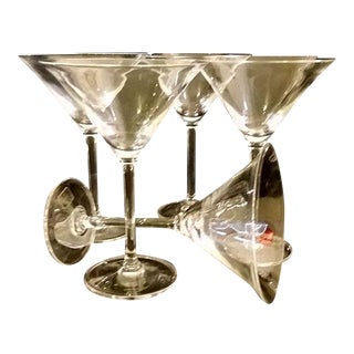 Vera Wang Wedgewood Martini Glasses - Set of 5
