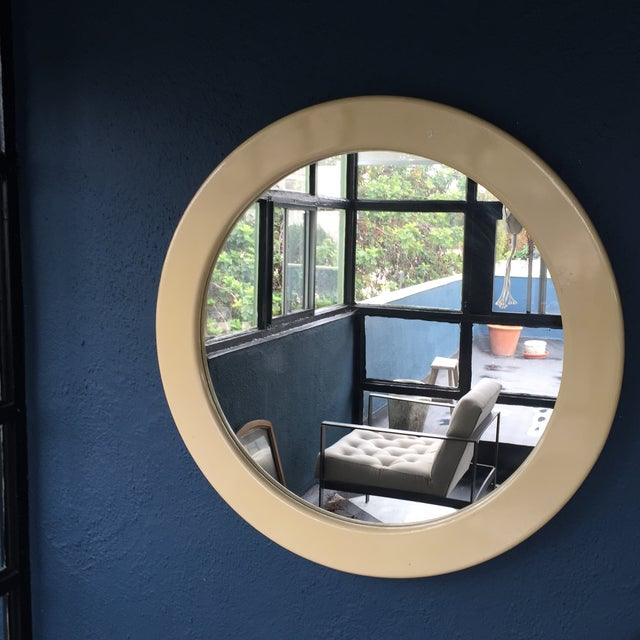 Image of Giant Round Contemporary Mirror