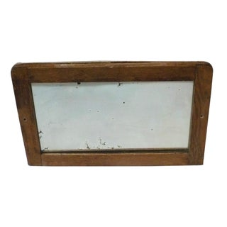 Antique Hand Silvered Mirror