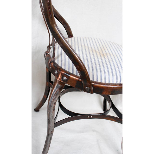 Vintage Toledo Industrial Chairs - A Pair - Image 6 of 8