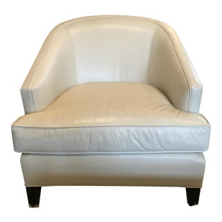 French Modern Style Leather Club Chair