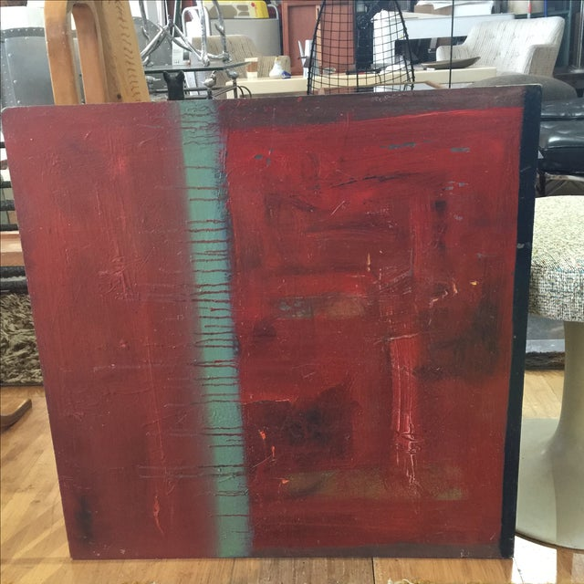 Red Abstract Painting by Trung Quo Tran - Image 2 of 6