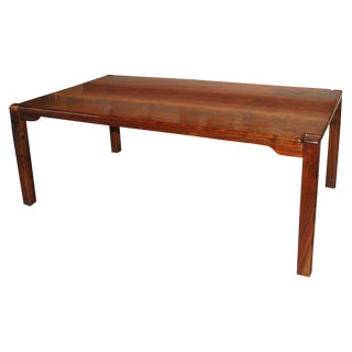 Custom Cocobolo Dining Table by Bruce McQuilkin