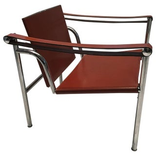 Le Corbusier Leather LC1 Sling Chair