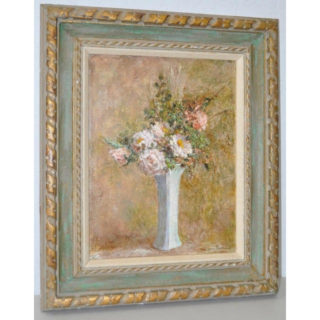 Troy Ruddick Vintage Floral Still Life Painting, C.1965 - Image 2 of 7