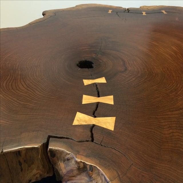 Nakashima Style Live Edge Redwood Coffee Table Chairish