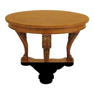 Italian Round Walnut Georgian Center Table