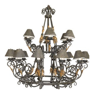 Custom 2 Tier Stoney Creek Chandelier