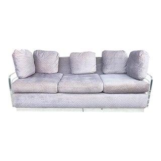 Large 1970's Lucite Sofa