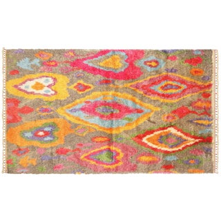 "Turkish Tulu Rug, 5'1""x8'7"""