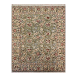 Marry Gold Pak-Persian Albertha Light Green & Red Wool Rug - 10'0 X 15'11