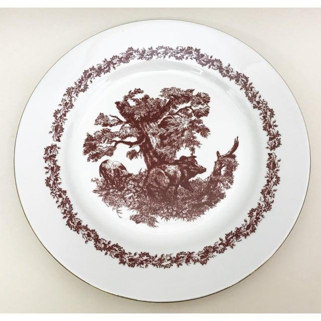 Black Forrest Theme Jlmenau Graf Von Henneberg Dinnerware - 22 Pieces - Image 8 of 11