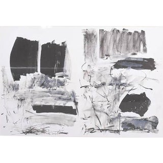 American Abstract Lithograph, Joan Mitchell