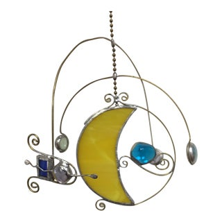 Stained Glass Celestial Mobile