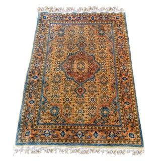 """Vintage Kazak Persian Wool Rug -- 3' 6"""" x 5' 7"""""""