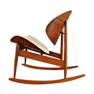 Mid-Century Kodawood Bentwood Rocking Chair