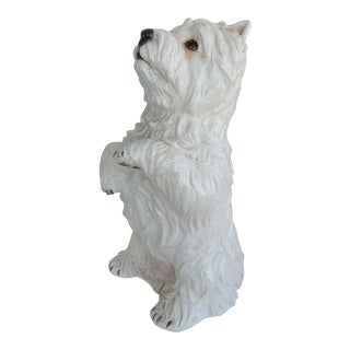 Life-Size Ceramic West Highland Terrier
