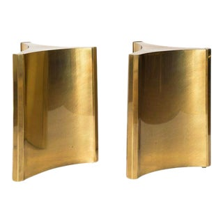 MASTERCRAFT BRASS TRILOBI DINING TABLE BASES