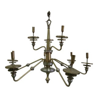 Large Italian Design Double Level Chandelier