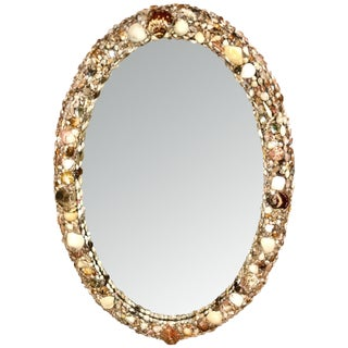 Custom Designed Oval Shell Mirror No. II