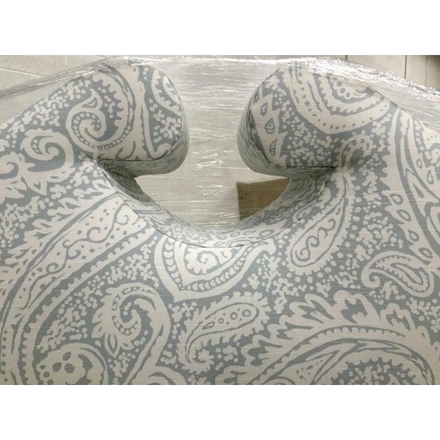 Robert Allen Upholstered Full Size Headboard - Image 3 of 4