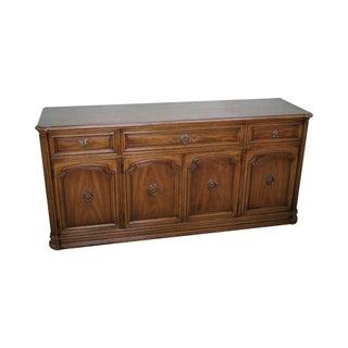 Henredon French Louis XV Style Vintage Walnut Buffet Sideboard