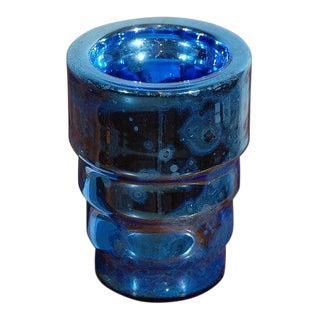 Deco Mercury Glass Vase