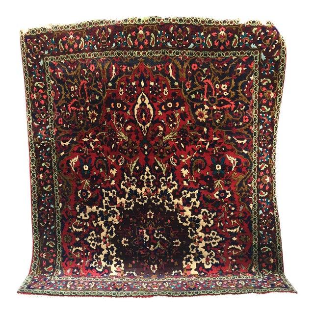 "Vintage Persian Rug 6'11"" X 7'11"" - Image 1 of 7"