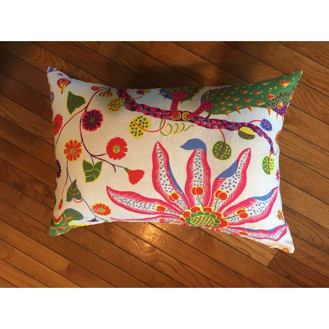 Colorful Floral Pillows - A Pair - Image 3 of 7