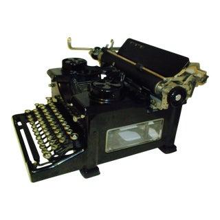 Vintage Royal Typewriter With Glass Side Panels