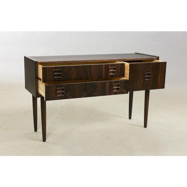 Danish Rosewood Night Stands by Kai Kristiansen - A Pair - Image 5 of 8