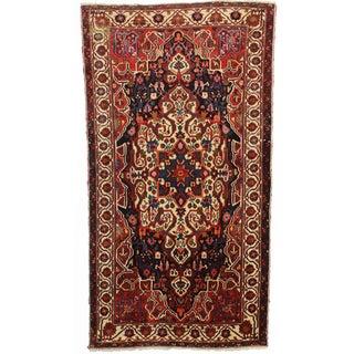 RugsinDallas Hand Knotted Wool Persian Bakhtiari Rug - 5′2″ × 9′10″