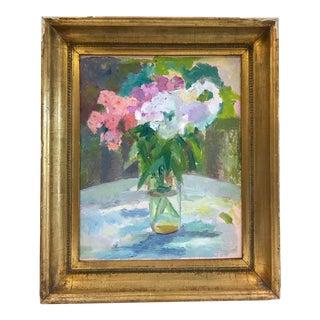 Vintage Impressionist Floral Still Life