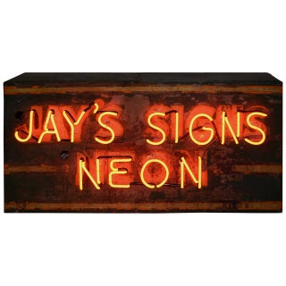 """Jay's Signs Neon"" Sign"