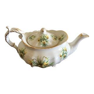 Spode Yellow Flowers Teapot
