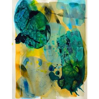'Aqua Petals 1' Original Composition