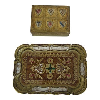 Florentine Box with Tray