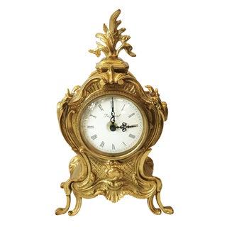 French Louis XV Style Shelf Clock