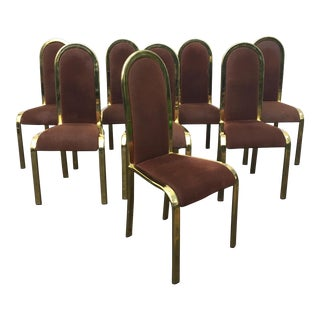 Mid-Century Modern Italian Dining Chairs - Set of 8
