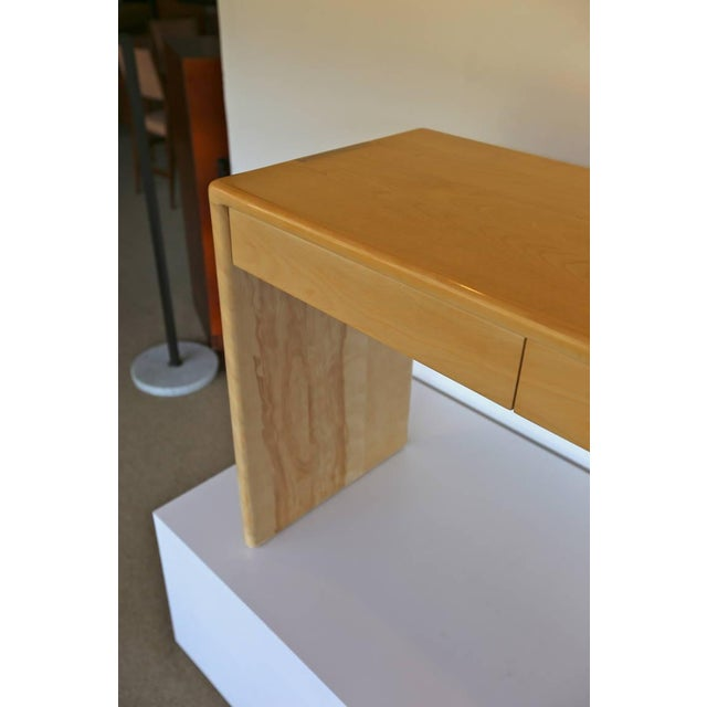 Gerald McCabe Solid Birch Console Table - Image 4 of 7