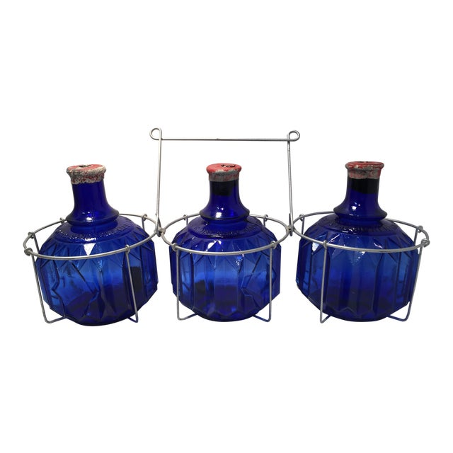 Image of 1870s Glass Fire Grenades - Set of 3