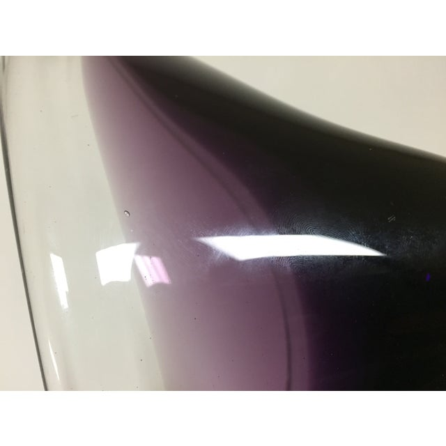 Image of Murano Purple Dish