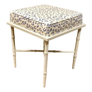 Transitional Leopard Doheney Port 68 Bench