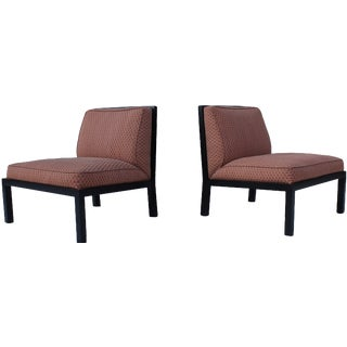 Michael Taylor for Baker Slipper Chairs - A Pair