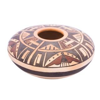 Native American Geometric Seed Bowl