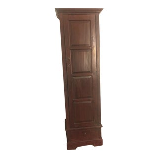 Pottery Barn Wood Cabinet